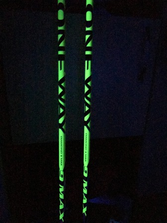 Awesome ski poles from One Way.