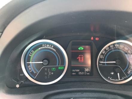 38 degrees celcius!